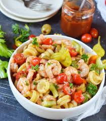 pasta salad recipes cold bloody mary shrimp pasta salad wonkywonderful