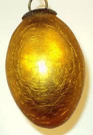 gold glass kugel ornament from rlreproshop on ruby