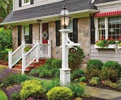 light post with address sign hammond lantern post environmental view wood lantern posts vinyl