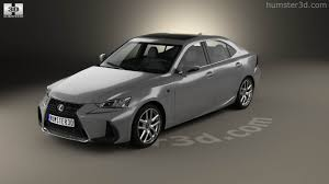 lexus is f sport 2017 360 view of lexus is xe30 200t f sport 2017 3d model hum3d store