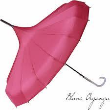 parapluie mariage parapluie de mariage fucshia blanc organza