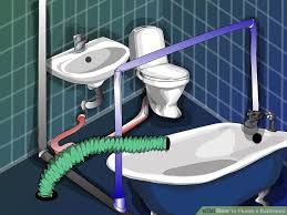 Water Not Draining From Bathtub How To Plumb A Bathroom 11 Steps With Pictures Wikihow
