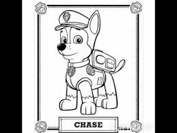 coloring pages paw patrol version 1