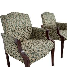 42 off paoli paoli green leaf upholstered accent chairs chairs