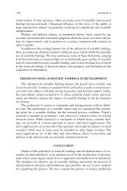 appendix d current issues on the utilization of scientific