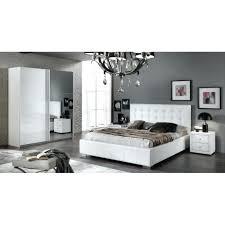 chambre a coucher blanc laqu chambre a coucher moderne laquac blanc brillant achat vente chambre
