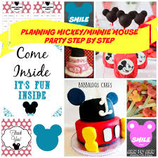 mickey mouse babyshower ideas practical baby shower guide