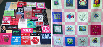 and easy t shirt quilt tutorial national quilters circle
