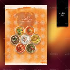 indian restaurant menu set a4 u0026 trifold by boben graphicriver