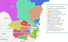 Councils Of Melbourne Map Salim Mehajer S Auburn Council To Be Cut In Half In Council Mergers