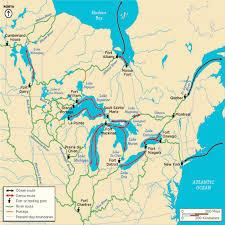 Great Lakes North America Map by The History Of Fort Niagara Historic Buffalo