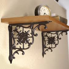 how to hang shelf brackets and plant hangers s restorers