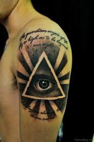 60 superb eye tattoos for shoulder