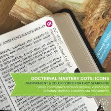 seminary doctrinal mastery scripture margin stickers icon