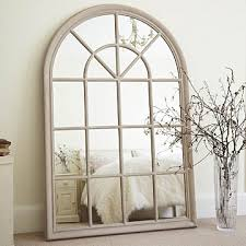 Mirror Film For Walls Confuse Guests For A Few Seconds Large Arched Window Mirror