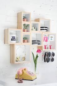 decoration chambre ado fille diy bricolage déco chambre ado fille faire soi même étagère murale