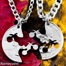 Buck And Doe Couples Necklace Relationship Necklaces Namecoins