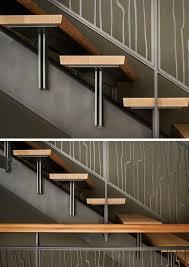 Metal Landing Banister And Railing Best 25 Steel Stair Railing Ideas On Pinterest