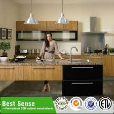 Kitchen Cabinets Made In China by Matt Wood Veneer Cabinet Melamine Knock Down Kitchen Cabinet Made