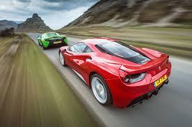 mclaren vs 488 gtb vs mclaren 650s supercars compared autocar