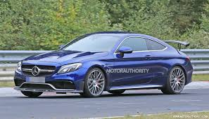 2018 mercedes amg c63 r coupe spy shots and video