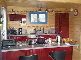cuisine chalet bois maison en bois interieur amazing maison en bois en utilisant
