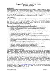 Project Coordinator Resume Samples by Resume Examples For Project Coordinator Virtren Com
