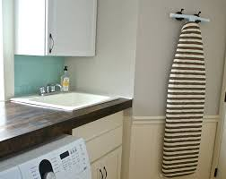 Laundry Room Decorating Accessories Hanging Ironing Board Ideas For Laundry Room Decolover Net