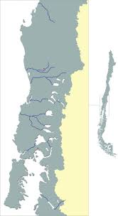 Alaska Rivers Map by The Pacific Salmon Rivers Of Chile