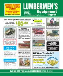 september 2009 lumbermen u0027s equipment digest by lumbermen u0027s