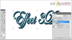 tutorial membuat logo di photoshop cs4 cara mudah membuat tulisan 3d di photoshop video tutorial89