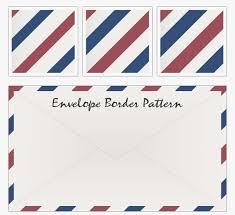 envelope border pattern air mail emvelope envelope border pattern red white blue stripe