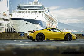 ferrari yellow and black amazing ferrari 458 speciale photoshoot by the sea gtspirit