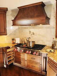Cooktop Vent Hoods Copper Vent Hoods Traditional Kitchen With Custom Hood Pendant