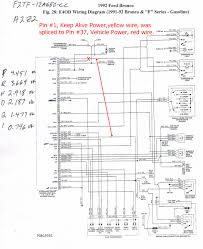 1997 ford explorer wiring diagram 1996 ford explorer radio wiring