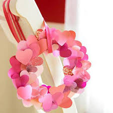 Heart Decorations For Valentine S Day by Valentines Day Ideas And Table Centerpieces Pink Hearts Decorations