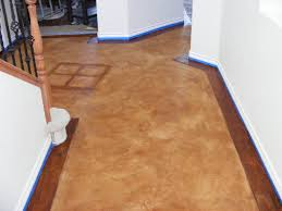 Laminate Flooring Border Interior Residential Concrete Floors Concrete Texturingconcrete