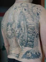 angel fighting demon tattoo designs blaze schwaller angel