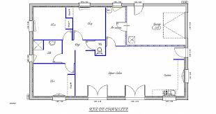 plan maison 4 chambres plain pied gratuit plan maison 4 chambre inspirational charmant plan maison plain pied