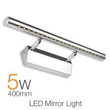 Waterproof Modern Led Bathroom Lighting 40cm 5w Vanity Led Mirror Led Bathroom Light Fixture