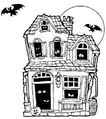 haunted house coloring u2013 minding business