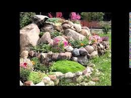 small rock garden ideas youtube