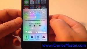 how to use orientation lock on iphone in ios 7 youtube
