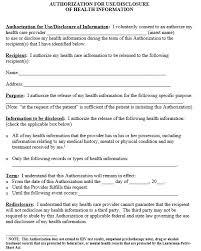 12 free sample printable medical authorization forms u2013 printable