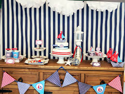 ideas for nautical theme party home design inspirations
