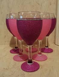best 25 glitter glasses ideas on glitter wine glasses