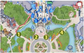 Disney World Map Magic Kingdom by About The New Magic Kingdom Opening Procedure