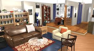 living room decorating ideas apartment the big theory apartment in 3d homebyme