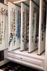 necklace storage display images Pull out 39 shelves 39 with necklace storage and display makes jpg