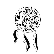 catcher symbol sun and moon ethnic indian element stock